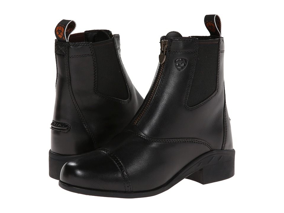 Image of Ariat English Kids - Devon III (Little Kid/Big Kid) (Black) Cowboy Boots