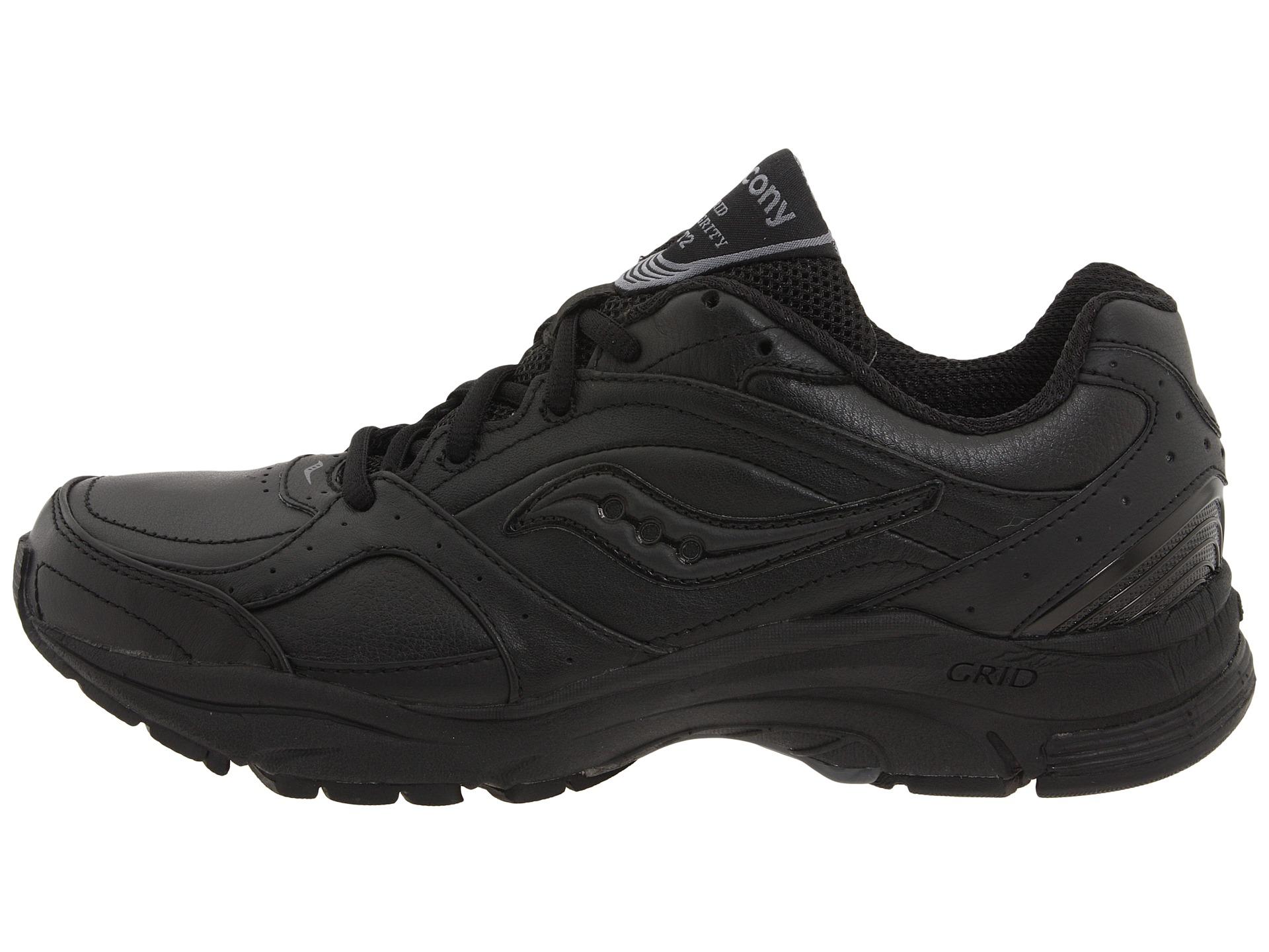 Saucony Black Walking Shoes