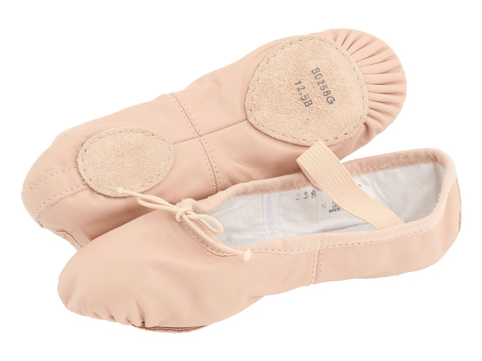 Bloch Kids - Dansoft Split Sole S0258G (Toddler/Little Kid) (Pink) Girls Shoes