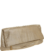BCBGMAXAZRIA - Evening Metal Mesh Foldover Clutch