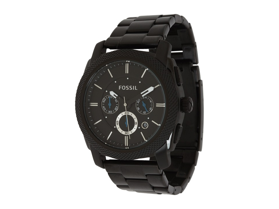 Fossil - Machine - FS4552 (Black Stainless Steel/Black) Chronograph Watches