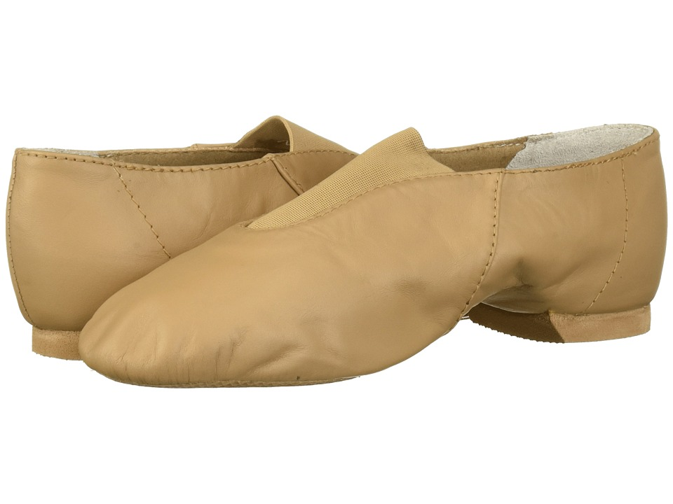 Bloch Kids - Super Jazz S0401G (Toddler/Little Kid) (Tan) Girls Shoes