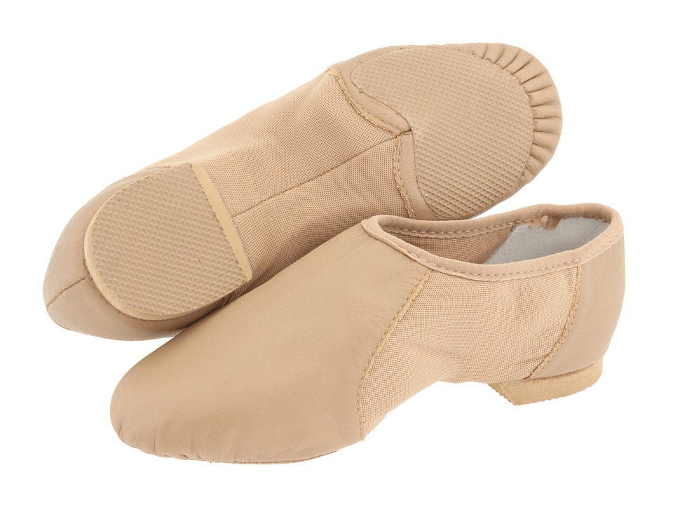 Bloch Kids - Neo-Flex Slip On S0495G (Toddler/Little Kid) (Tan) Girls Shoes