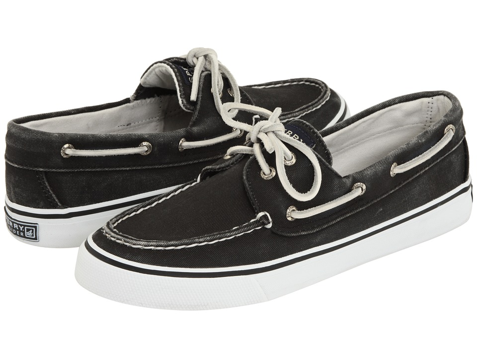 Sperry Top-Sider Bahama 2-Eye (Black)