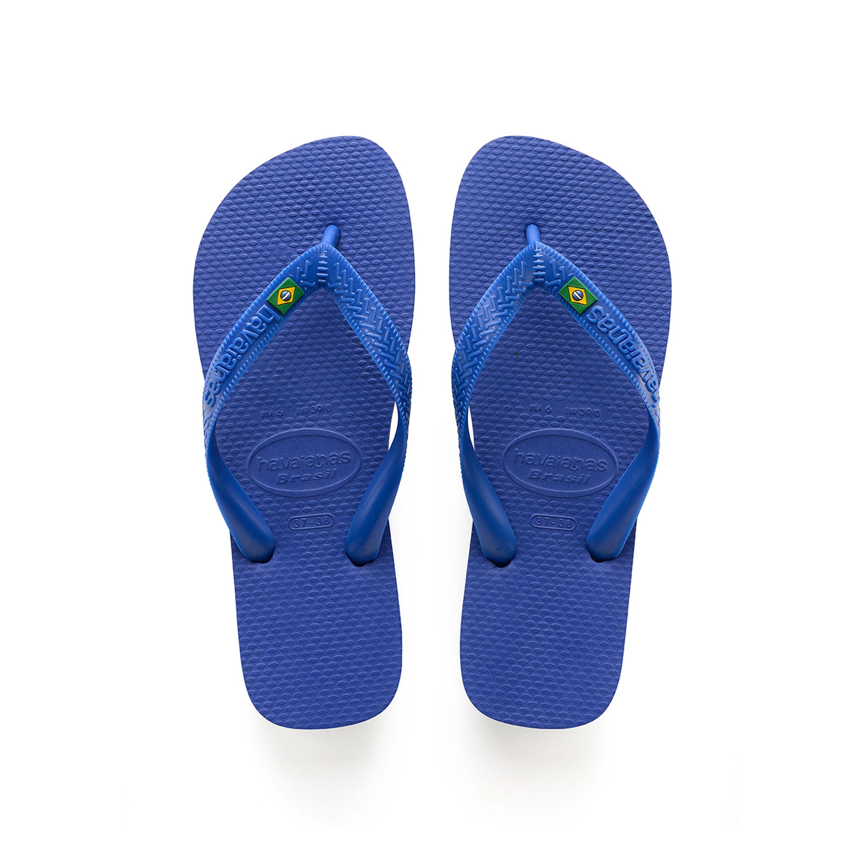 Havaianas Brasil Flip Flops Marine Blue Mens Sandals