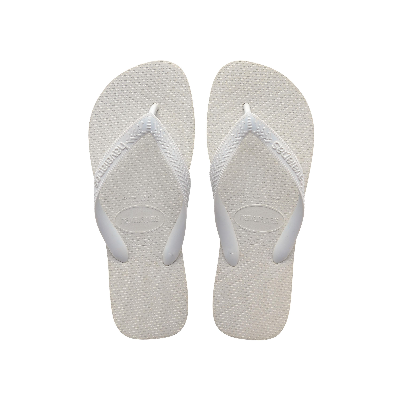 Havaianas Top Flip Flops White Mens Sandals