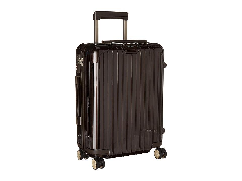 Rimowa - Salsa Deluxe - Cabin Multiwheel(r) (Brown) Pullman Luggage