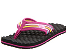 The North Face Kids - Base Camp Flip-Flop (Toddler/Youth) (Fuchsia Pink/Daffodil Yellow) - Footwear