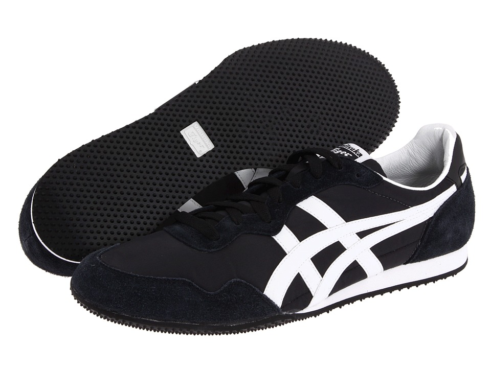Onitsuka Tiger by Asics Serrano (Zappos Exclusive! Black/White) Classic Shoes