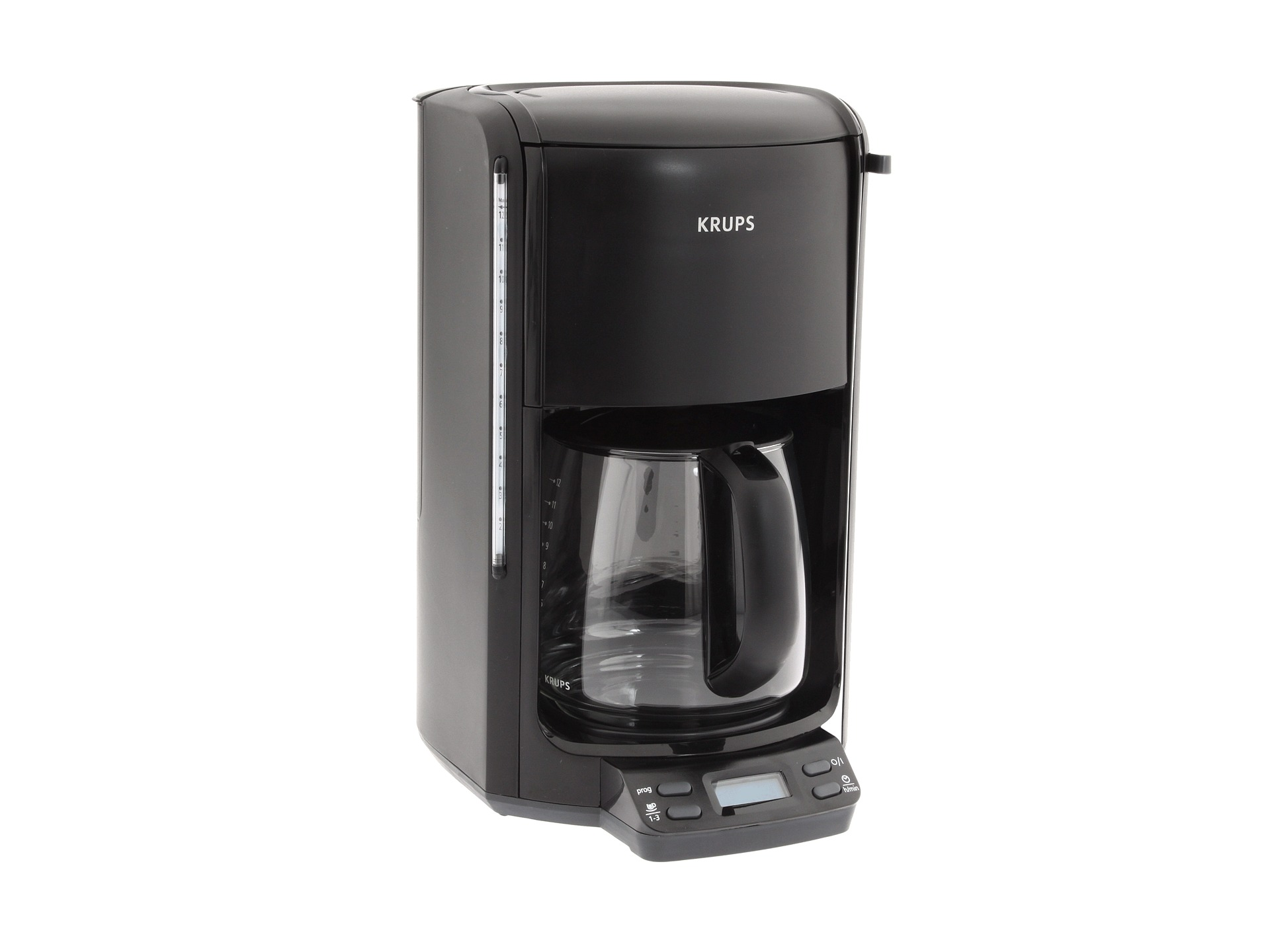 krups fme2 pro aroma 12 cup coffee maker black shipped free at zappos. Black Bedroom Furniture Sets. Home Design Ideas