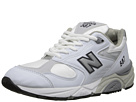 New Balance W587 White, Navy Shoes