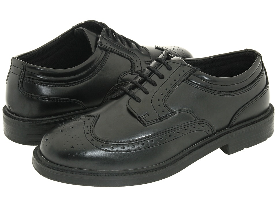 Deer Stags - Tribune (Black) Mens Lace Up Wing Tip Shoes