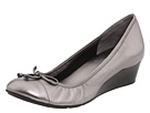 Cole Haan - Air Tali Lace Wedge (Dark Silver Metallic)