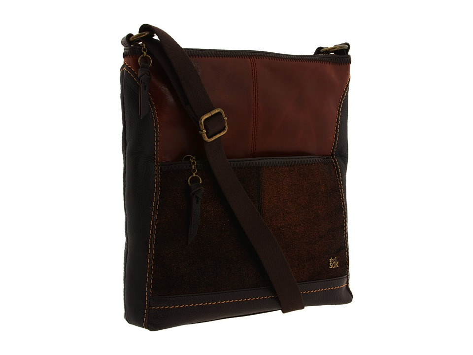 The Sak - Iris Crossbody (Teak Multi) Cross Body Handbags