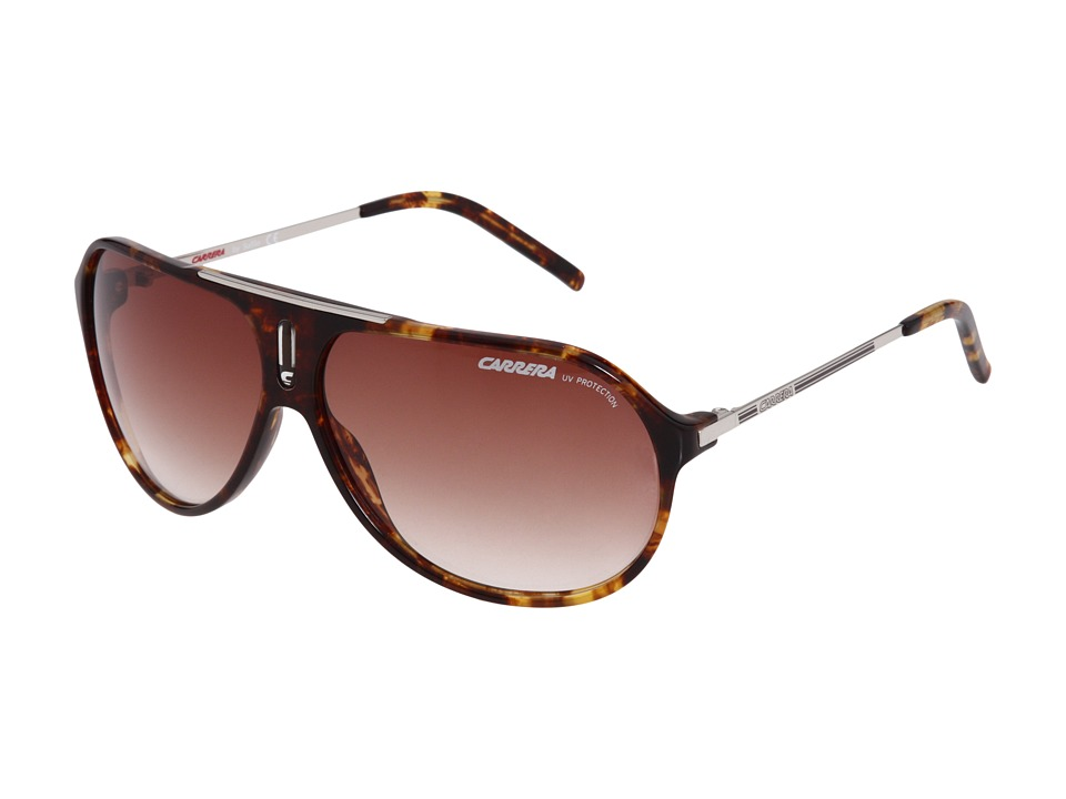 Carrera Hot/S (Green/Havana/Brown Gradient) Fashion Sunglasses