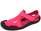 Nike Kids - Sunray Protect (Toddler/Youth) (Spark/White/Voltage Cherry/Black) - Footwear