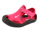 Nike Kids - Sunray Protect (Infant/Toddler) (Spark/White/Voltage Cherry/Black) - Footwear