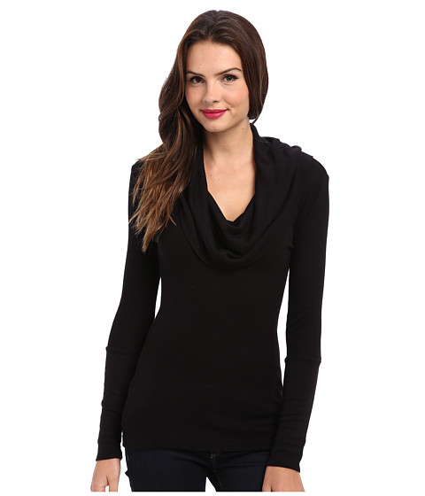 Splendid Thermal L/S Cowl Neck Tunic