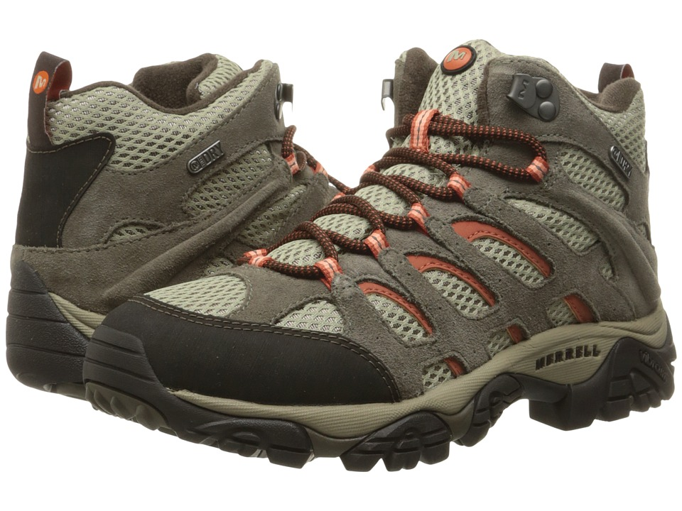 Merrell Moab Mid Waterproof (Bungee Cord) Women's Hiking Boots