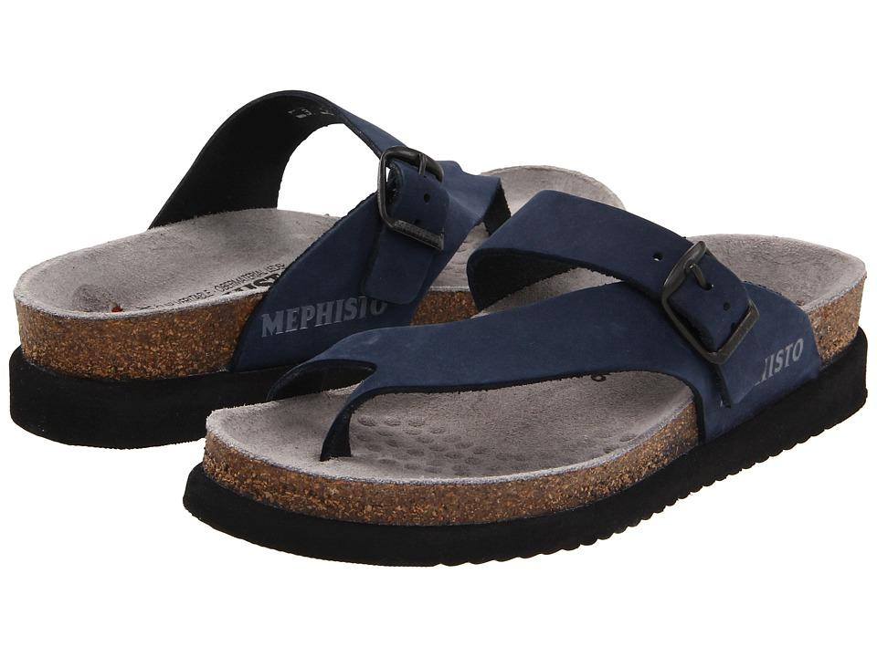 Mephisto Helen (Navy Nubuck) Sandals