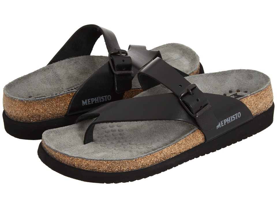 Mephisto - Helen Plus (Black Waxy) Women's Sandals