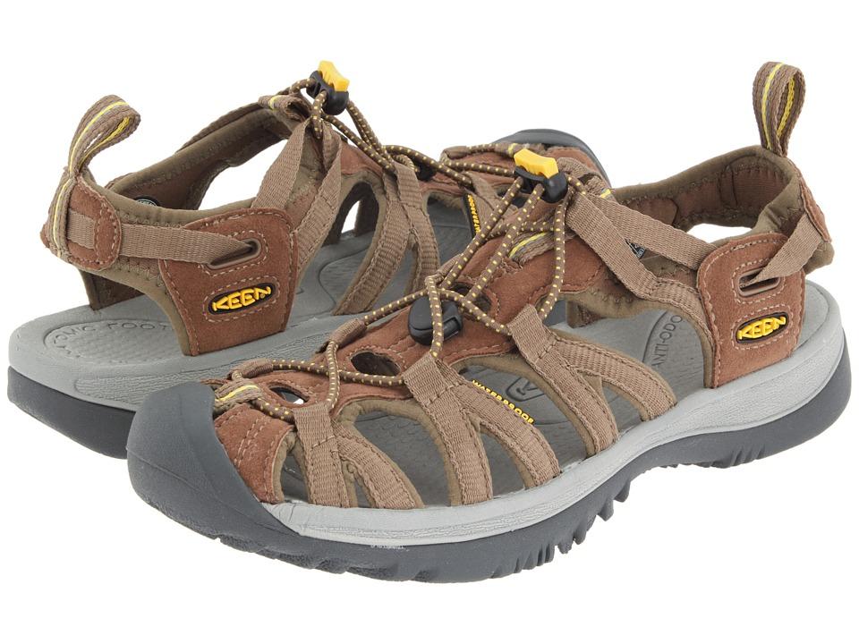 Keen Whisper (Coffee Liqueur/KEEN Yellow) Sandals