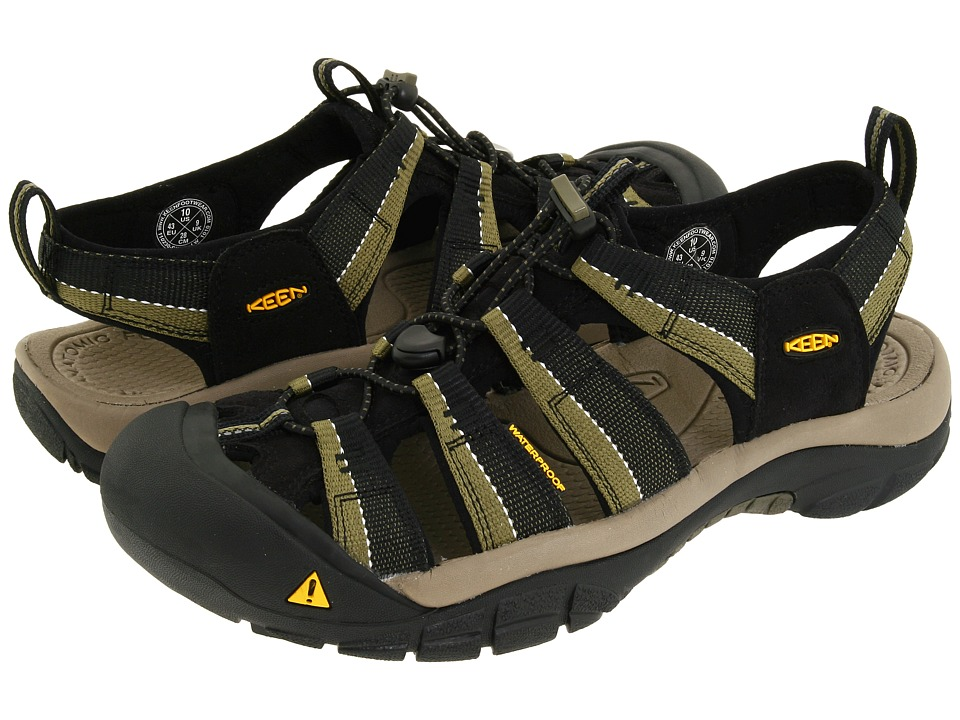 Keen - Newport H2 (Black/Stone Gray) Mens Sandals