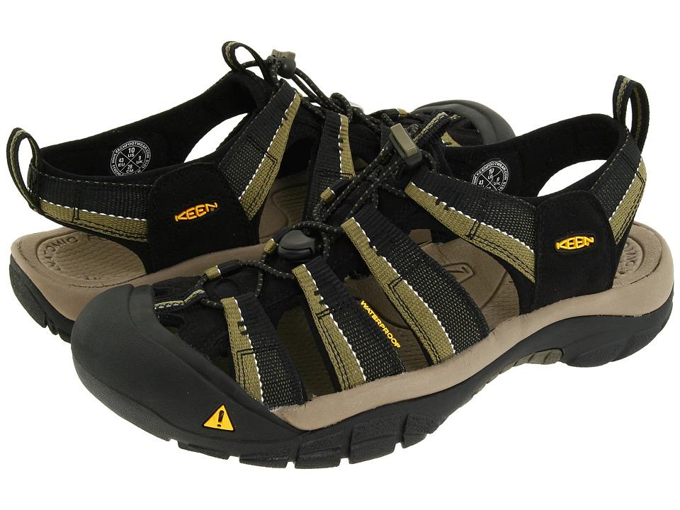 Keen Newport H2 (Black/Stone Gray) Men's Sandals