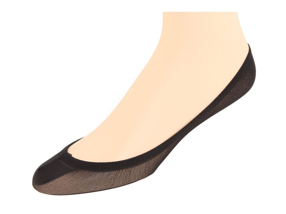 Jefferies Socks Seamless Footie 6 Pair Pack Black Girls Shoes