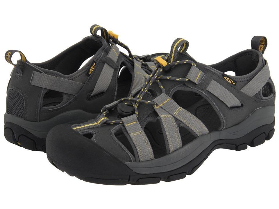 Keen - Owyhee (Dark Shadow/KEEN Yellow) Men's Shoes