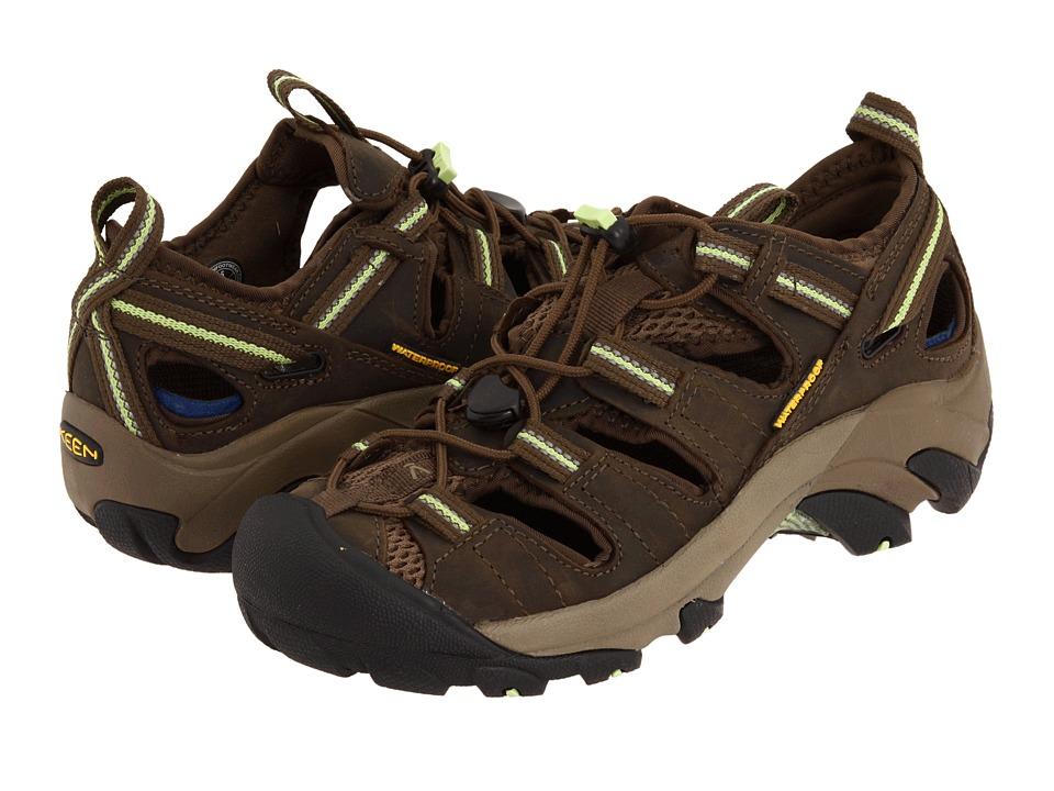 Keen - Arroyo II (Chocolate Chip/Sap Green) Womens Shoes