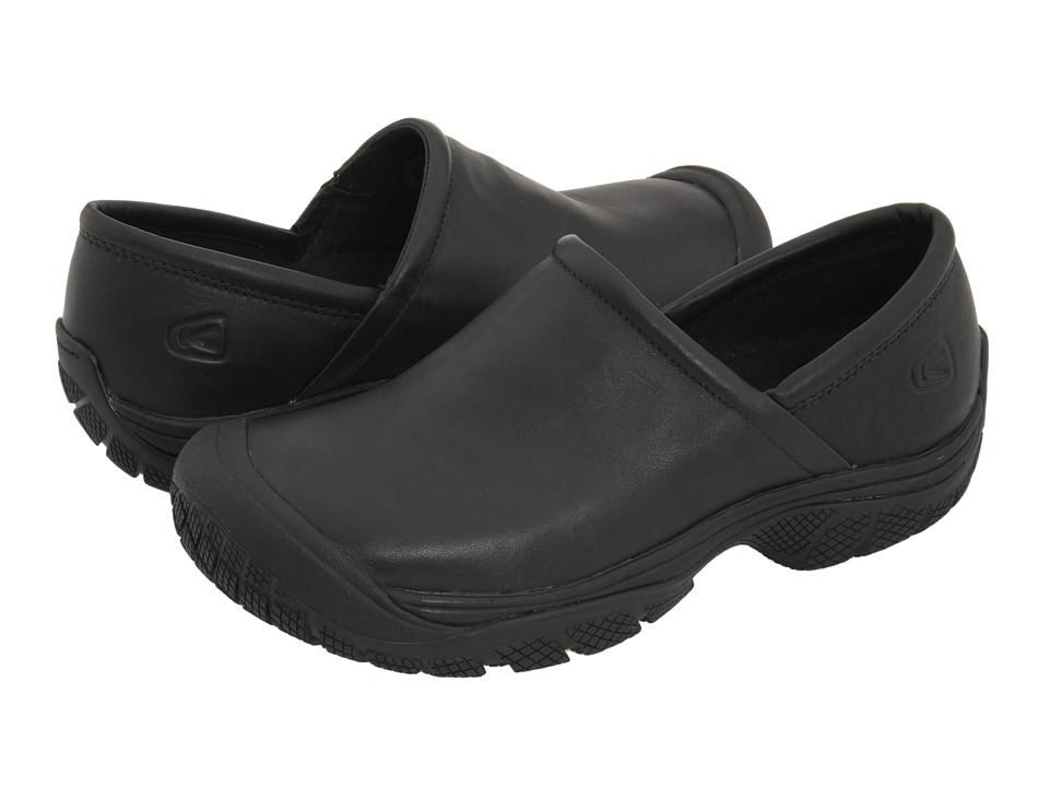 Keen Utility - PTC Slip-On II (Black) Mens Industrial Shoes