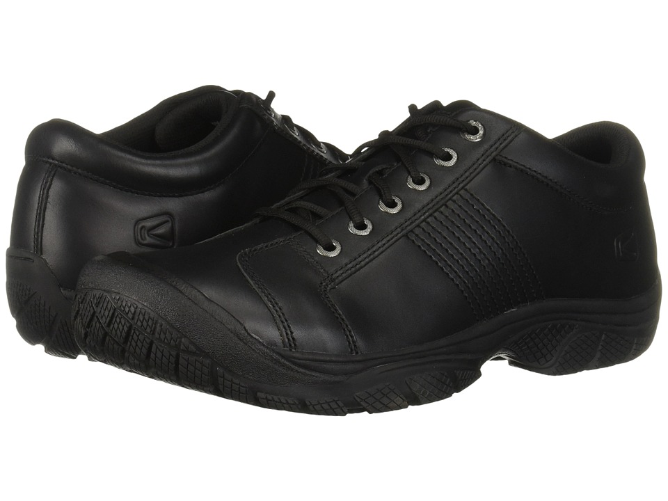 Keen Utility - PTC Oxford (Black) Mens Industrial Shoes