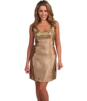 Laundry by Shelli Segal - Texture Shimmer Shift Dress