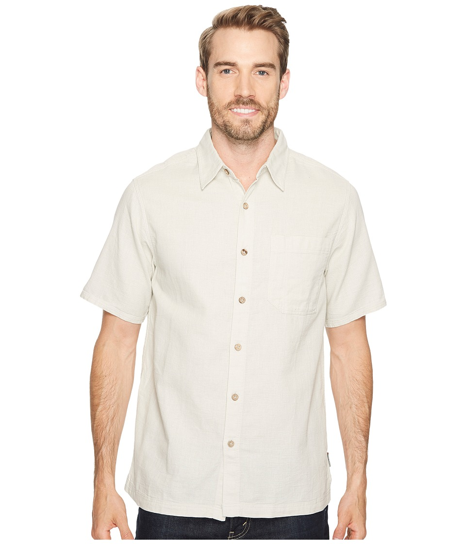 Royal Robbins Cool Mesh S/S Soapstone Mens Short Sleeve Button Up