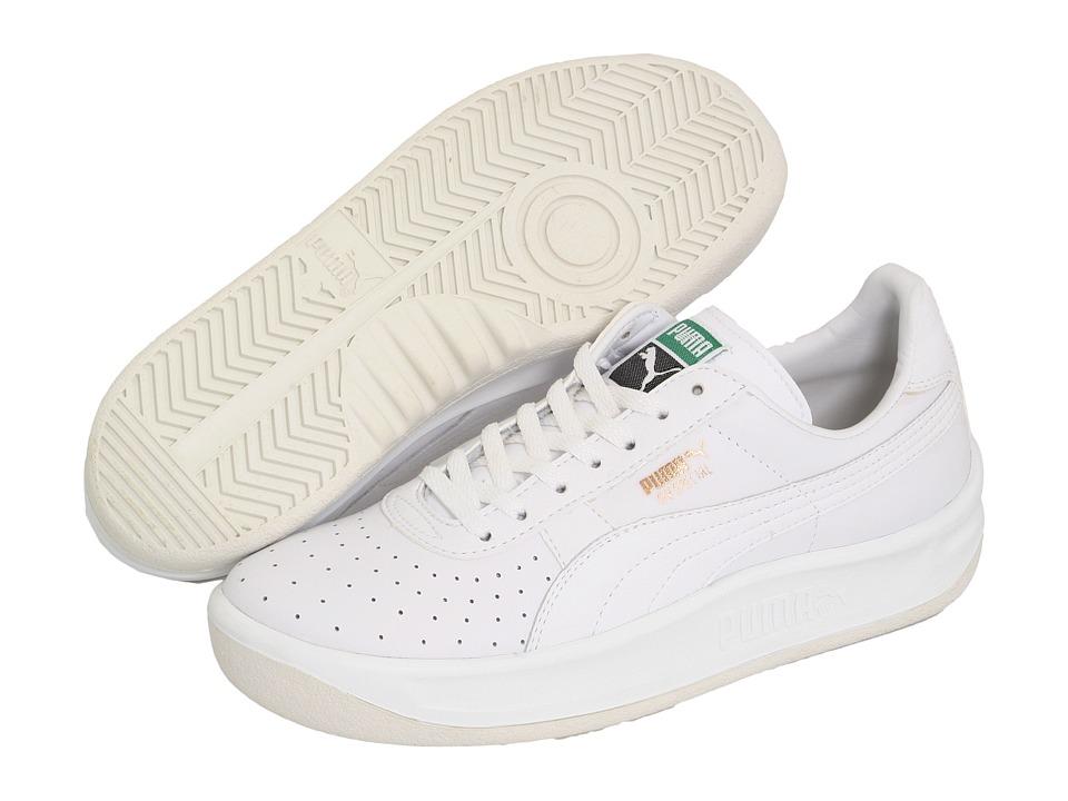 Puma Kids - GV Special Jr (Little Kid/Big Kid) (White/White) Kids Shoes
