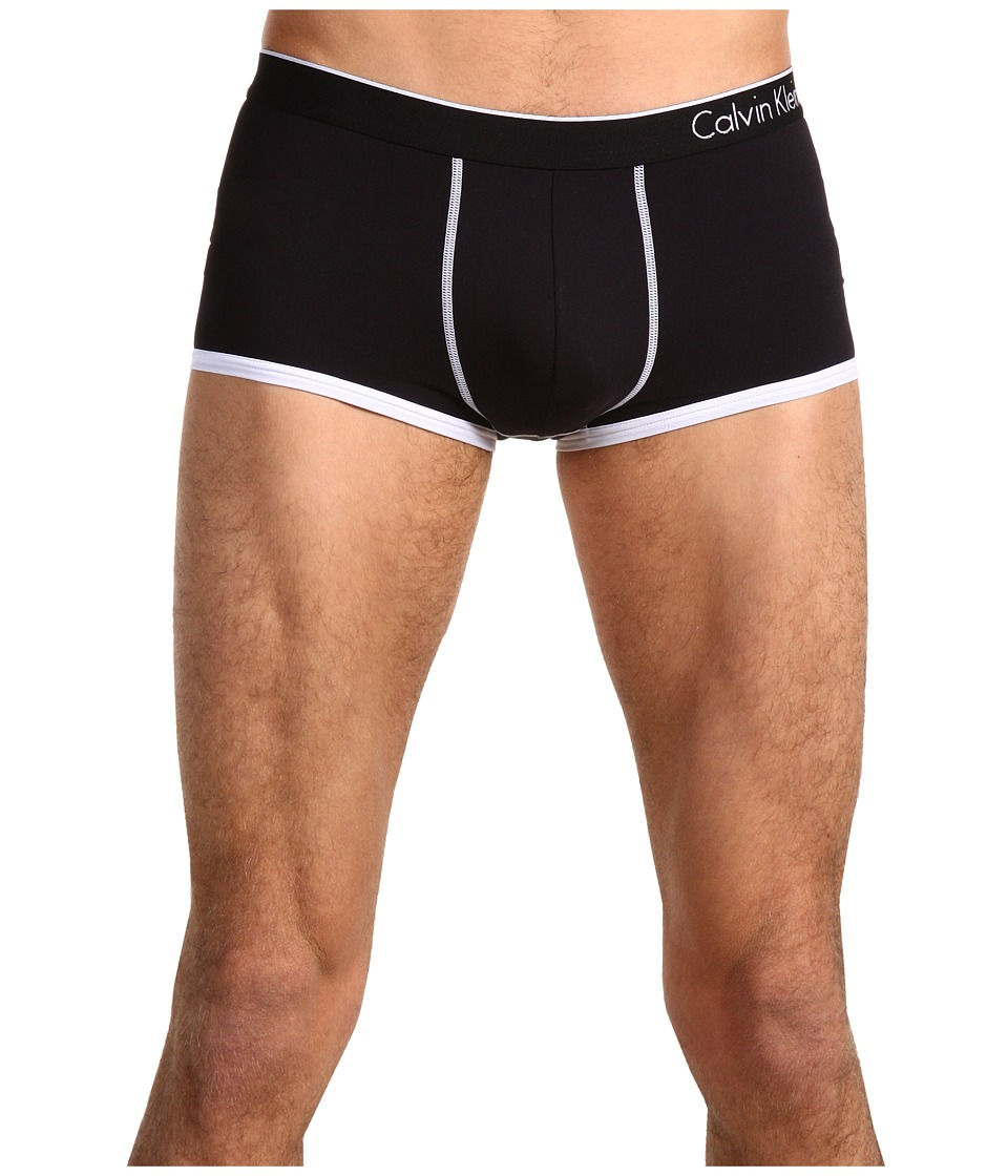 Calvin Klein Underwear ck one Microfiber Low Rise Trunk U8516 Black Mens Underwear