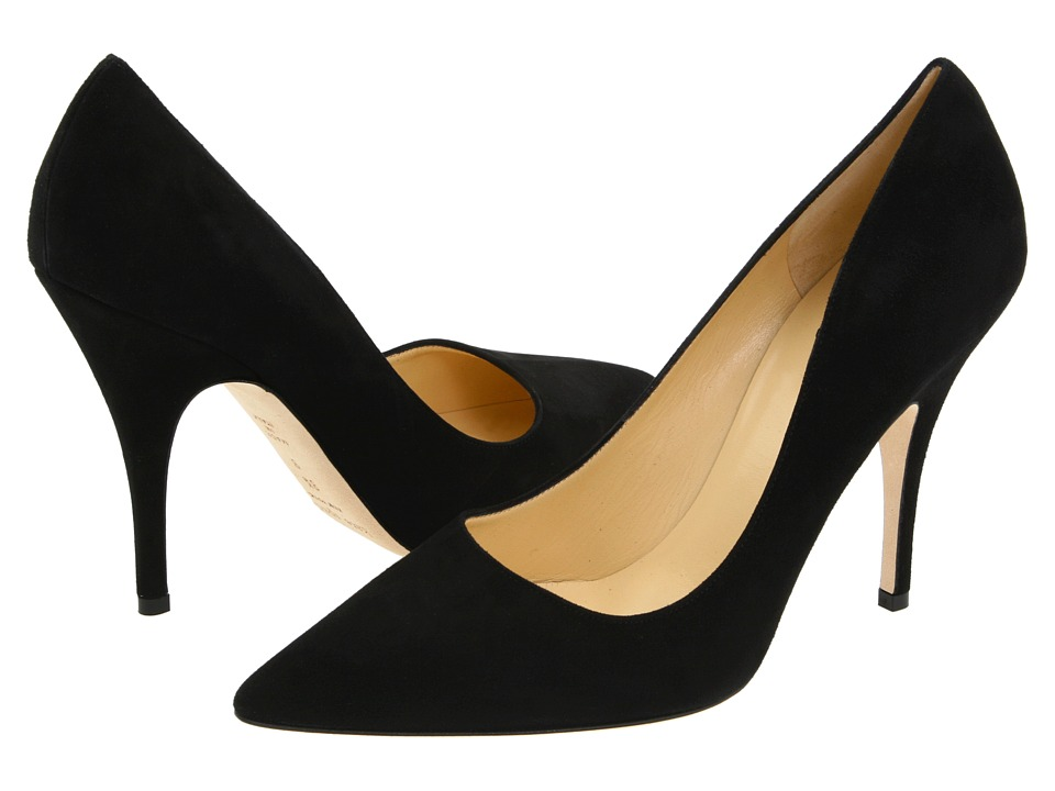 Kate Spade New York Licorice (Black Suede) High Heel Shoes