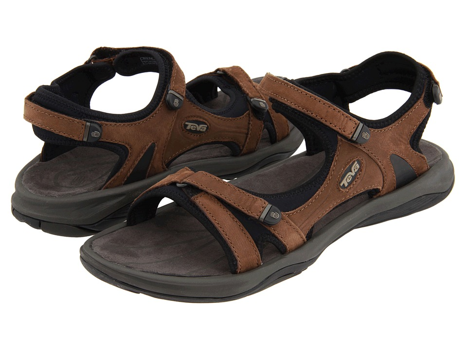 Teva Neota Dark Earth Womens Sandals
