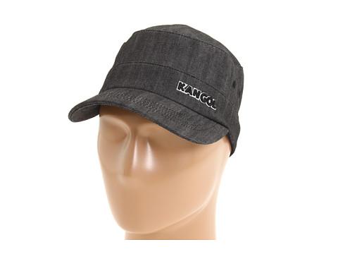 Kangol Denim Army Cap - Black