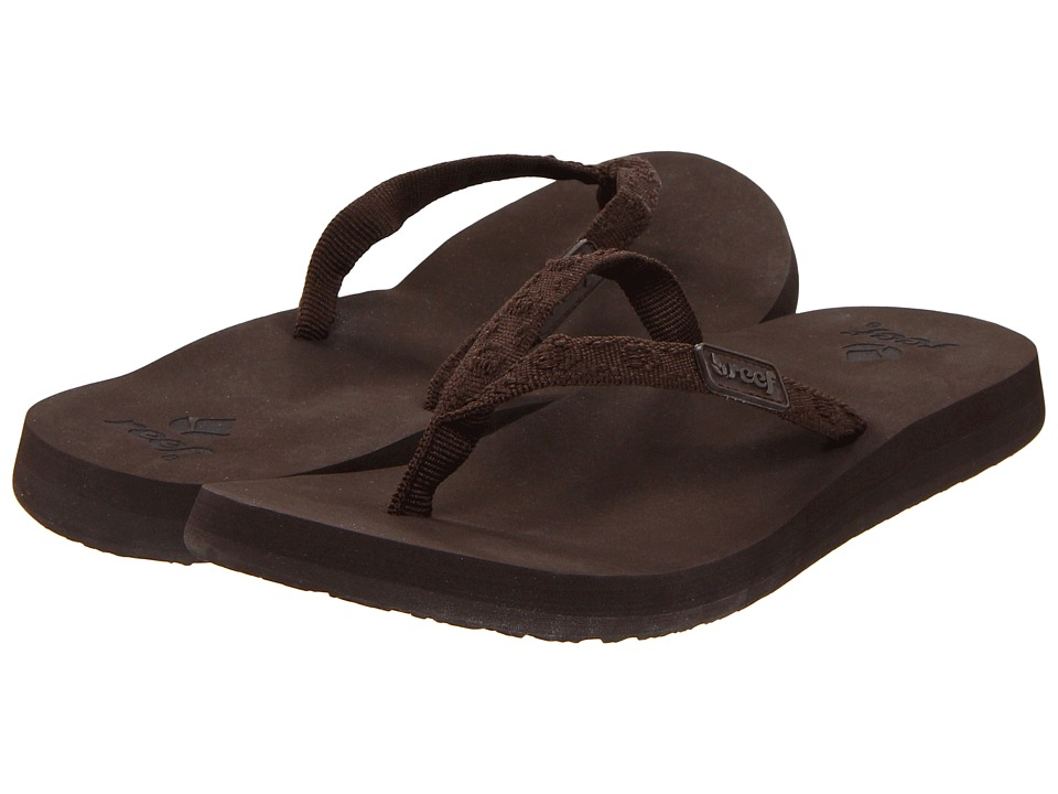 Reef - Ginger (Brown/Brown) Women's Sandals