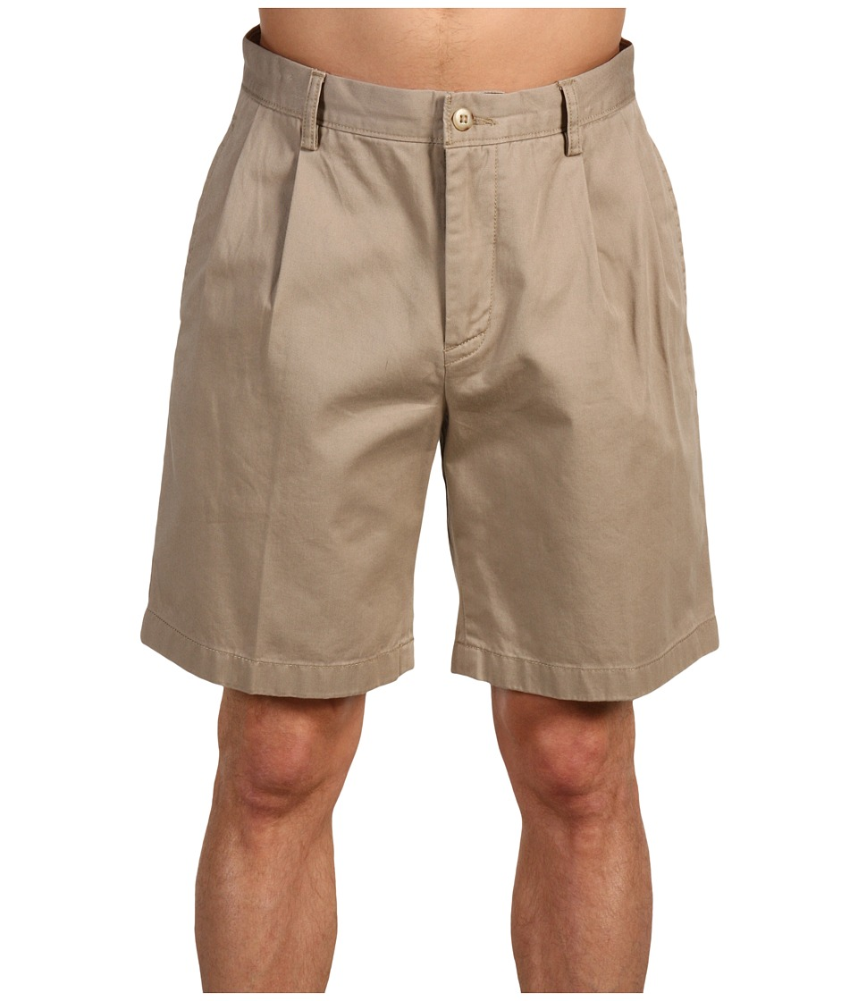 Nautica True Khaki Double Pleat Short True Khaki Mens Shorts
