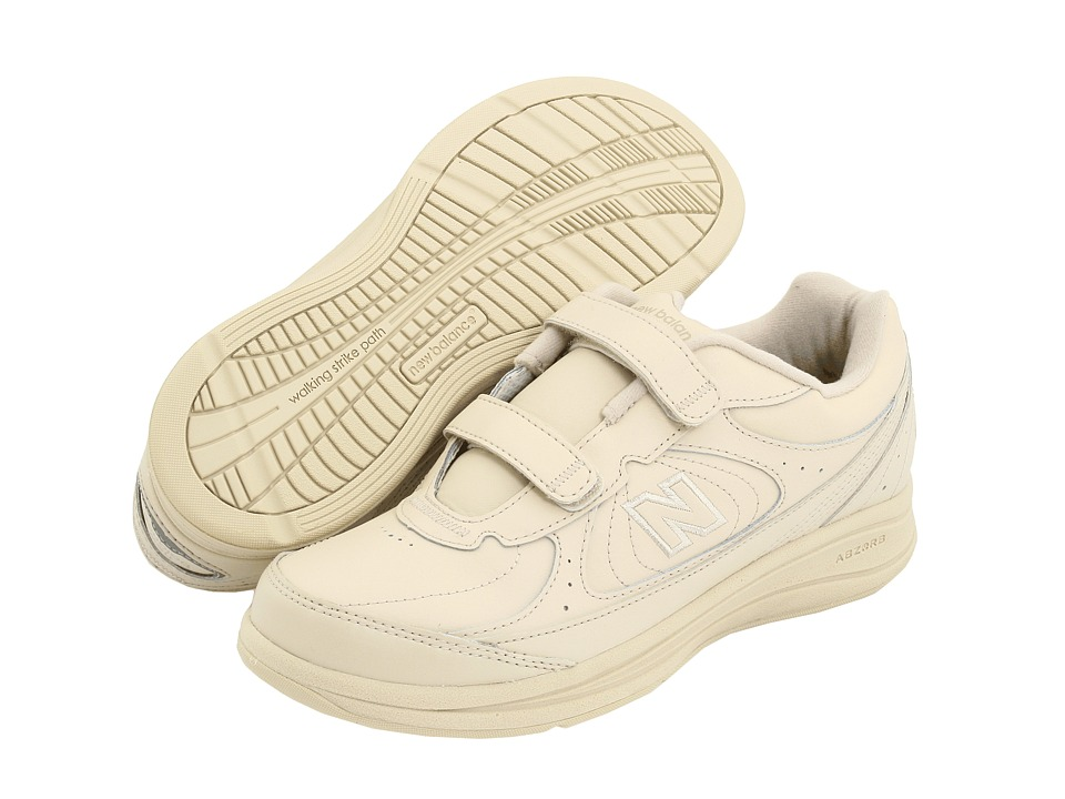 New Balance WW577 Hook and Loop (Bone) Walking Shoes