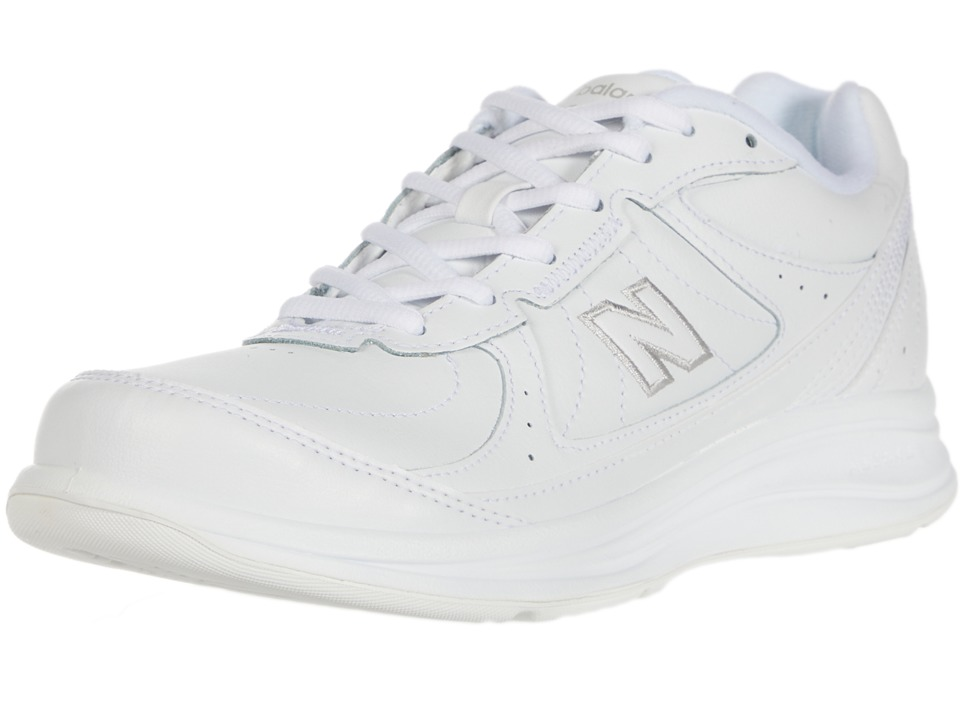 New Balance WW577 (White) Walking Shoes