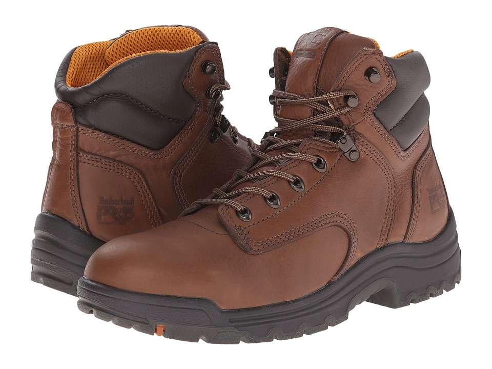 Timberland PRO - TiTAN 6 Soft Toe (Coffee Full-Grain Leather) Men