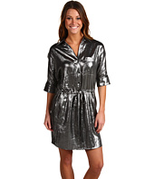 BCBGMAXAZRIA - Shiny Shirt Dress