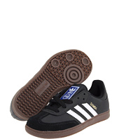 adidas Originals Kids - Samba® Leather (Little Kid/Big Kid)