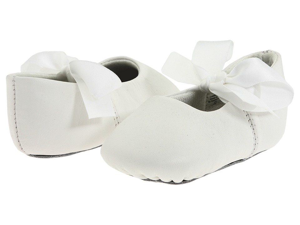 Baby Deer - Sabrina Ballet (Infant) (White Leather) Girls Shoes
