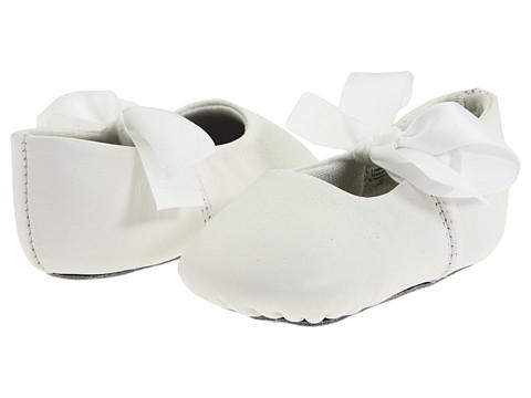 Baby Deer Sabrina Ballet (Infant) - White Leather