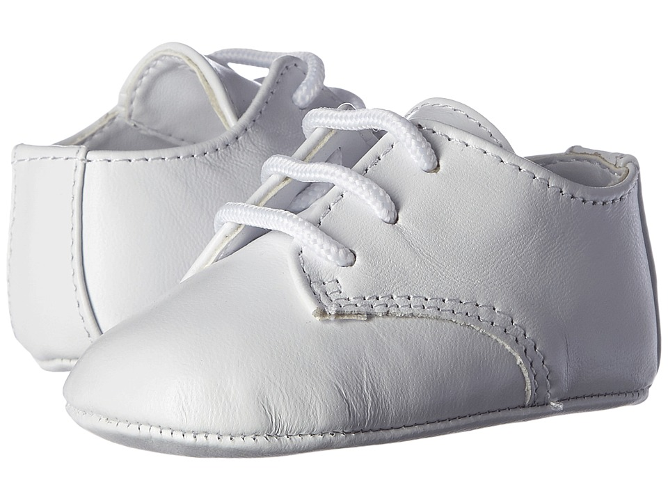Baby Deer Eric Infant/Toddler White Leather Boys Shoes